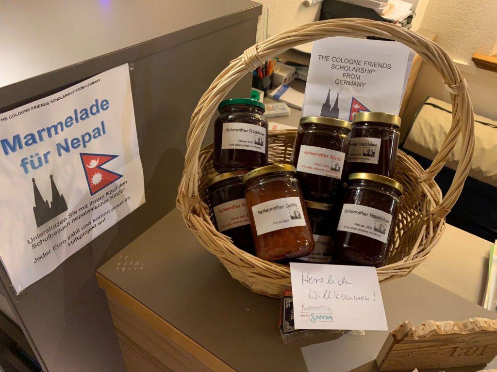 Marmelade für Nepal von Berwang